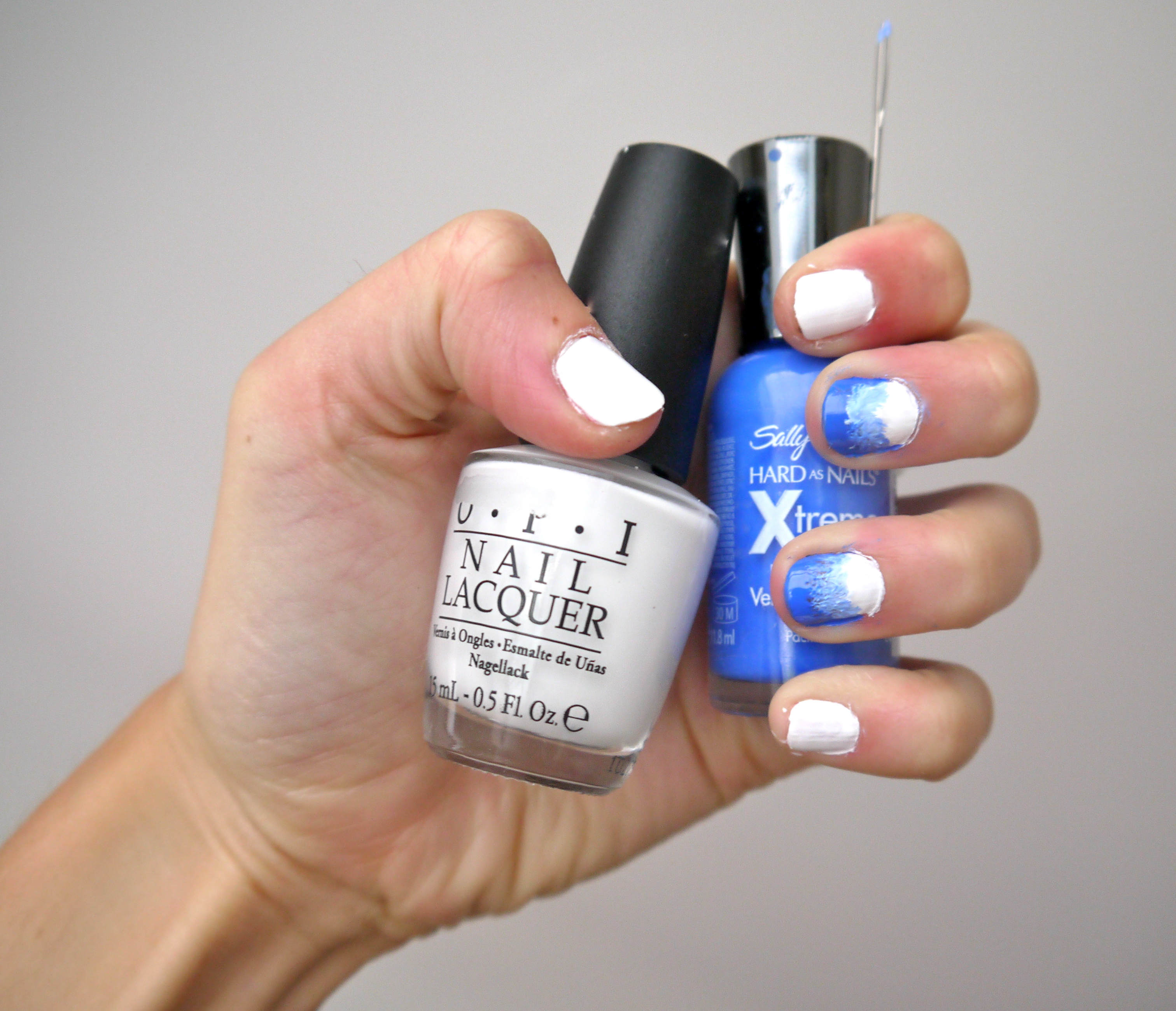 Diy ombre nail polish pumps iron instructions solutioingenieria Images