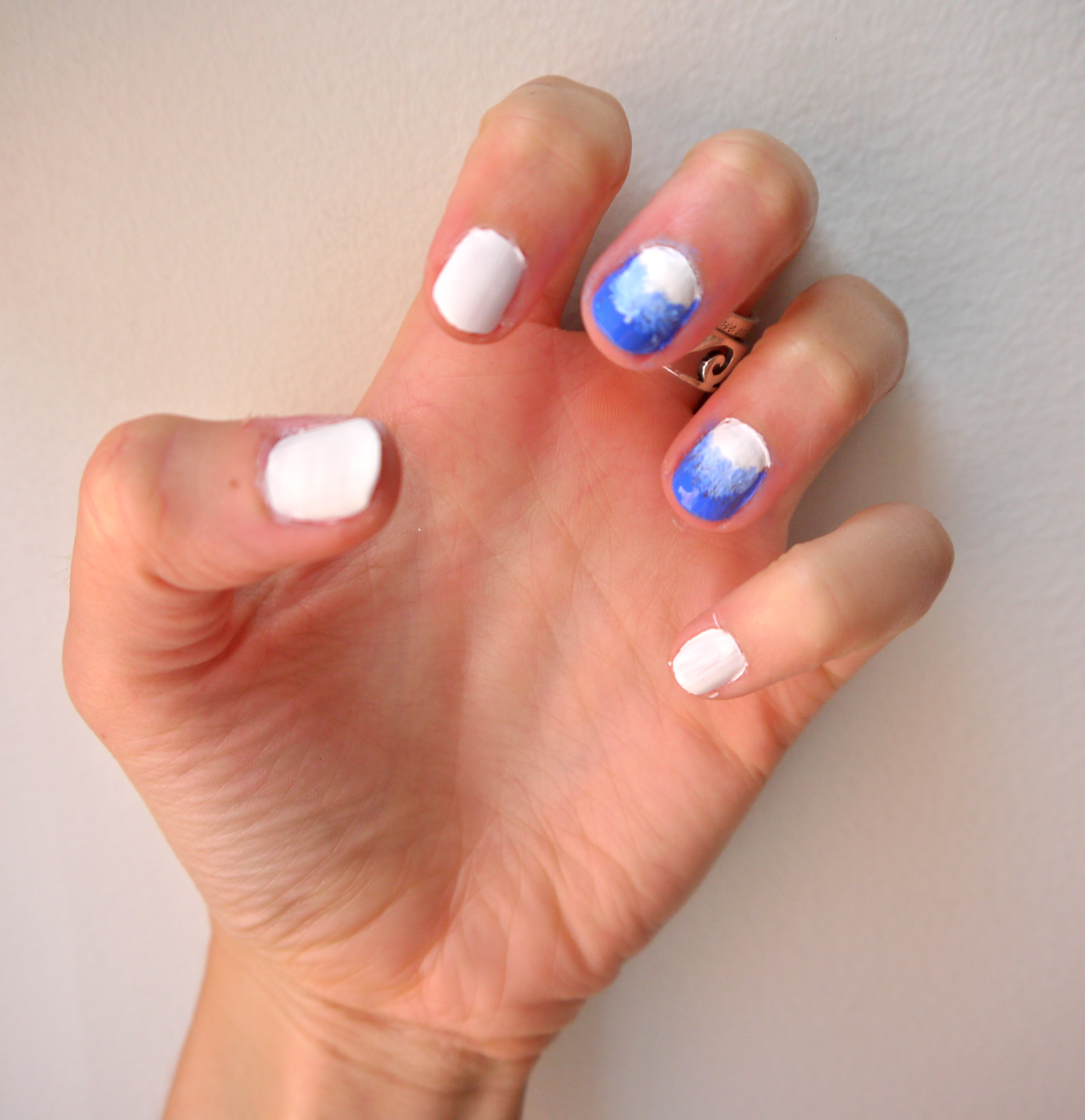 Ombre Nails Pumps Iron