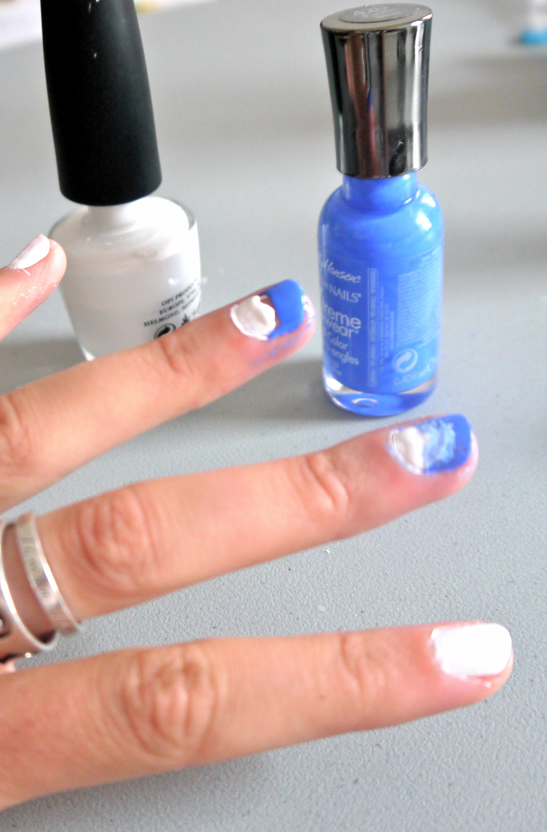 Diy ombre nail polish pumps iron using solutioingenieria Images