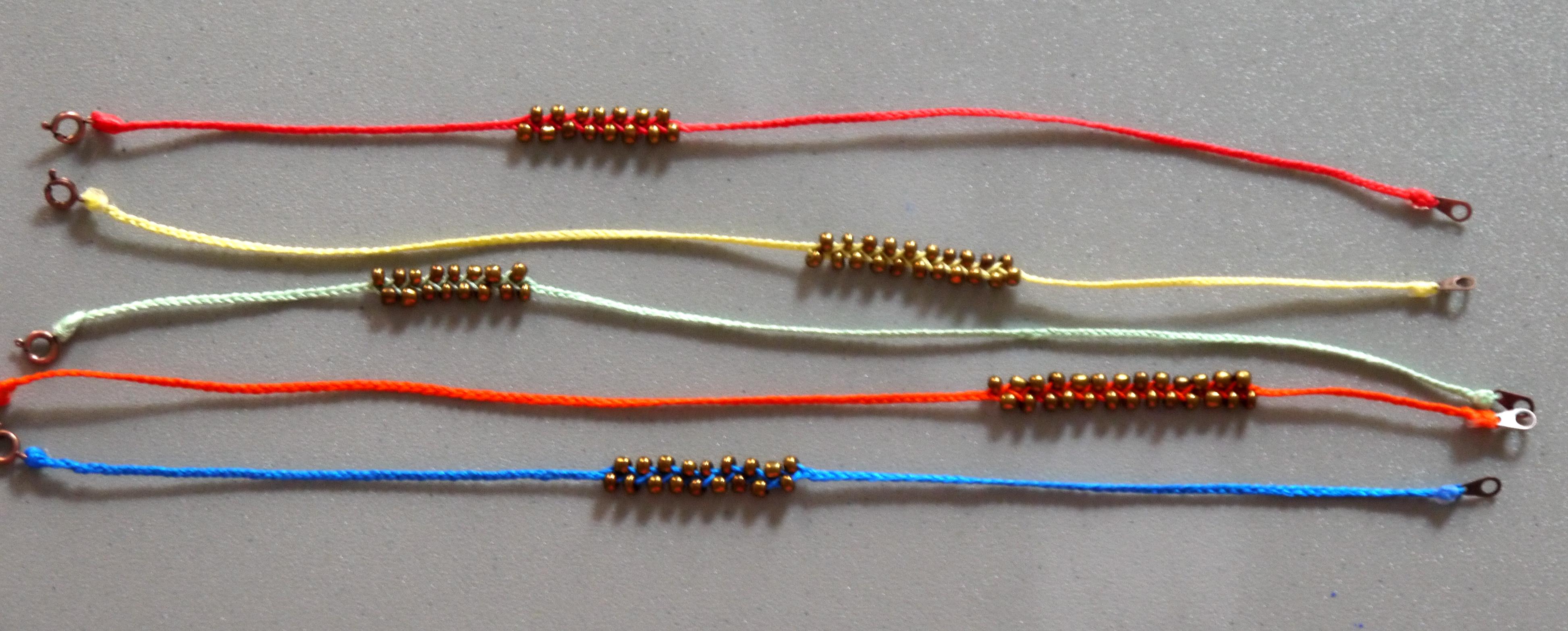 diy neon braided bead bracelets pumps iron. Black Bedroom Furniture Sets. Home Design Ideas